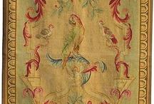 Antique Tapestrys, Aubussons, Antique Pillows