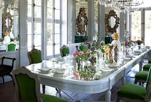 Divine Dining / Beautiful Dining Rooms
