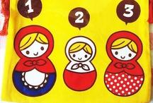 My My Matryoshka  / Matryoshka, nesting dolls, babushkas. Stack 'em up and check 'em out! / by Murphypop