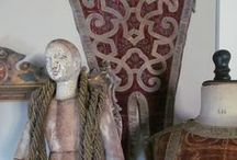 Acquired Objects, Debra Sidebottom / Oreillers.com antique pillows