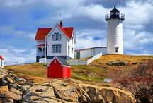 LIGHTHOUSES A SHORE / by Amanda Urrutia