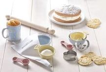 Food, Recipes and Baking / With stencils and cookie stamps for a personalised touch, quirky silicone cake moulds for pretty presentation and a range of cases and boxes for tasty gifts, we've got everything you need to become a baking sensation.