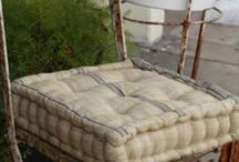 French Mattress Cushions / French Mattress cushions for daybeds, floors, stools