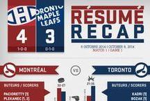 Résumés infographiques / Infographic recaps / by Canadiens de Montréal