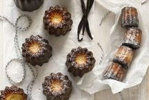 Cannelé / A crunchy caramelized crust gives way to a custardy interior. Cannelés are a very special dessert with a lengthy history. #French #pastry #baking