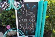 Tiffany party ideas / tiffany, tiffany & co, tiffany blue, little blue box