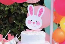 Easter party ideas / Easter, Easter bunny, Easter eggs, carrots, Easter basket