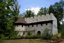 Castle Vacation Rental in Murphy, NC / Live in a castle for a weekend... a week... or forever! Why stay in a rental cabin in the mountains, when you can have your very own private, romantic castle situated on more than ten acres of gated mountain seclusion and privacy?  Created and waiting--- just for you and that special someone... Kilt and bagpipes optional.  :-)  Visit our website at www.CastleMcKenzie.com  / by Olde World Stone & Tile Molds, Inc.