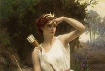 Timeless Goddesses / Ancient-Modern Myths and Archaetypes / by Debra Eve | LaterBloomer.com