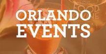 Orlando Events / Follow our Orlando Events Pinterest board to keep up with what's happening around town! #visitorlando