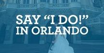 """Say """"I do!"""" in Orlando / Planning a wedding!? Say """"I do!"""" in Orlando! The most magical place in the United States!"""
