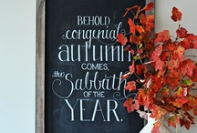 Autumn Decor + Projects / For more Autumn goodness, please visit my related boards: EAT | Autumn: Sweet + Savory, Halloween and Thanksgiving. / by Lisa Frank
