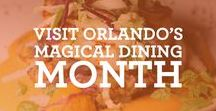 Visit Orlando's Magical Dining Month / Orlando's finest restaurants will feature three-course dinner menus for just $33. Click on images for full menu.   Make your reservations at visitorlando.com/magicaldining