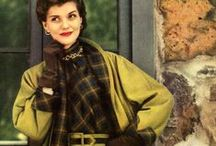 Autumnal Allure / Cozy up to fall fashions from yesteryear, modeled by some of Hollywood's glamor girls!  / by Kay Noske