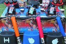 Star Wars party ideas / star wars, dark side, the force awakens, darth vader