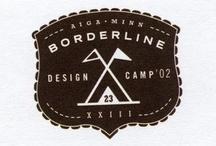 design: logos: badge-style / contemporary badge style logos / by Nancy Lennon Hansen