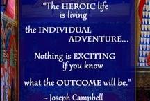 Storytelling | Joseph Campbell / by Debra Eve | LaterBloomer.com