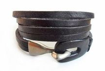jewelry: leather / leather bracelets for women