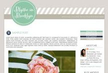 Blog Design + Info. / by Lisa Frank