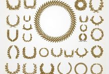 free: elements for design / free elements, often ornamental, to use for graphic design