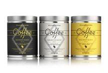 design: packaging for coffee and tea / coffee packaging, cappuccino, espresso, brew, demitasse, java, mocha, mud, perk cafe, joe, caffeine