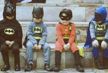 superheros unite / Young or young at heart everyone has a superhero in their life.