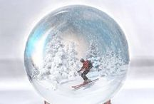 design: ski posters / advertising, decorative and inspirational posters about skiing, ski resorts, ski competition