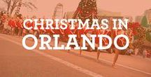 Christmas in Orlando / Christmas in Orlando is a very special time of the year! Christmas holiday season comes to life with lights and sparkle! Plan your trip today! #visitorlando