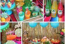 Cinco de Mayo party ideas / cinco de mayo, fiesta, margaritas, sombrero, tacos, serape, ole
