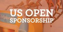 US Open Sponsorship / Visit Orlando sponsors the US Open! Stop by our booth every year! www.visitorlandotennis.com