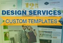 Design Services Custom Email Templates / A selection of custom templates created by our Design Services team.