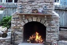 """Ledgestone DIY You Make at Home / DIY Ledgestone veneer for home improvement projects with concrete stone you make at home. Limited only by your desire and imagination. We have everything needed to enable you to make stone for pennies a square foot... right at home in a garage, basement, barn or shed. You can be a """"Rock"""" Star.  / by Olde World Stone & Tile Molds, Inc."""