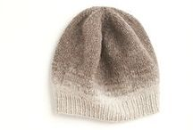 knitting: neutrals / knitting, hand-made, handcrafted, patterns, yarn, stash, neutral colors, craft, needles, yarn skein, threads, fiber arts / by Nancy Lennon Hansen