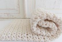 crochet / crochet, hand-made crochet, crocheted bags, crochet patterns, crochet coral, crochet art / by Nancy Lennon Hansen