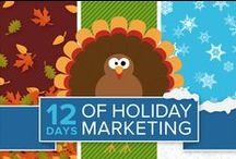 12 Days of Holiday Marketing / iContact tips & techniques for email marketing success during the holiday season.