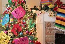 Christmas Tree inspiration / Beautiful Christmas tree decor and inspiration.