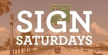 Sign Saturdays / Check out our social media for signs around Orlando every Saturday!