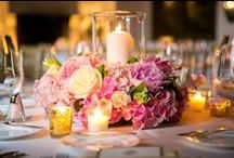 Blush and Gold Summer Wedding / Summer wedding at The Racquet Club of Chicago with lots of blush peonies and gold accents. Planning by Wrap It Up Parties.