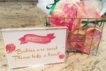 Oh Baby! - Pink and Red Baby Shower