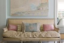Pastels / Add some calming, but elegant colors into your home decor!