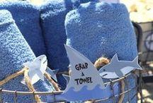 Shark party ideas / Fun ideas to host your own Shark themed party!