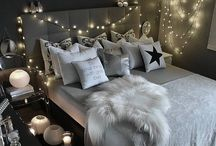 Bedroom  / My favourite place to relax and be in my own space!!  Ideas of how I can decorate my room