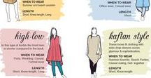 fashion  infographics / all different types of fashion tips and infographics for developing your fashion knoweldge.