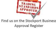 Trading Standards Approved / Out & About Carpets are the only flooring supplier in Stockport to be approved by Trading Standards.  We offer a choose at home service.  Free, no pressure, estimates.
