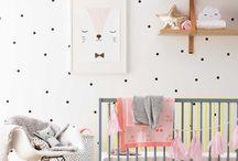 Детская / Детские комнаты в скандинавском стиле, декор для детской