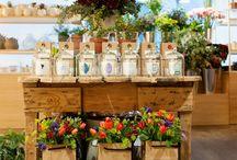 Магазин цветов / Прекрасный интерьер цветочных лавок