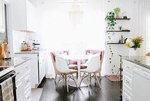 Кухня / Столовая в скандинавском стиле