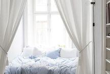 Спальня / Светлые спальни в скандинавском стиле