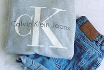 Calvin Klein / Don't you guys just live and adore Calvin Klein so do I follow me @natalie_lupo for more cute pictures