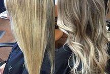Волосы / Модные техники окрашивания
